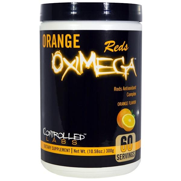 Controlled Labs, Reds Oximega, Orange, 10.58 oz (300 g) (Discontinued Item)