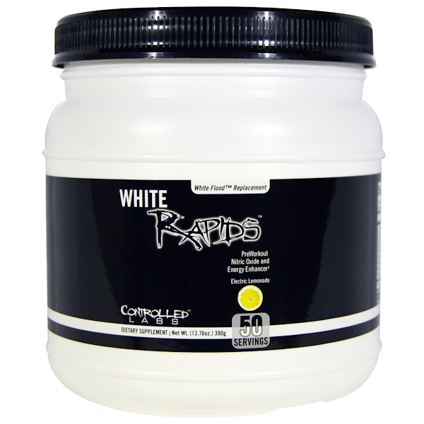 Controlled Labs, White Rapids, Electric Lemonade, 13.76 oz (390 g) (Discontinued Item)