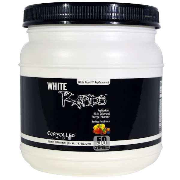 Controlled Labs, White Rapids, Furious Fruit Punch, 13.76 oz (390 g) (Discontinued Item)