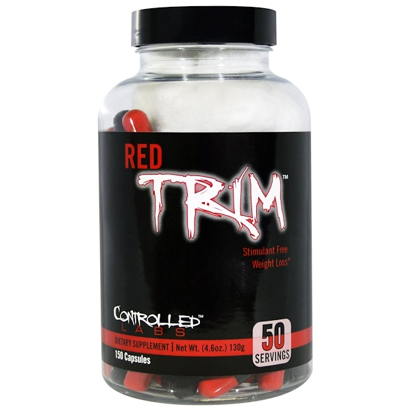 Controlled Labs, Red Trim, Stimulant Free Weight Loss, 150 Capsules (Discontinued Item)