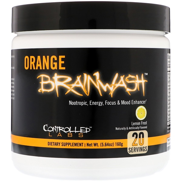 Controlled Labs, Orange Brainwash, Lemon Frost, 5.64 oz (160 g) (Discontinued Item)