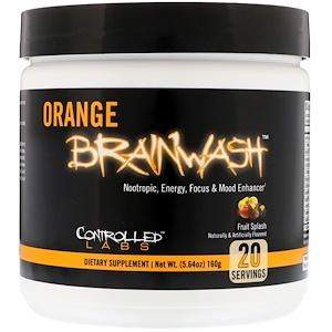 Контроллд Лэбс, Orange Brainwash, Fruit Splash, 5.64 oz (160 g) отзывы