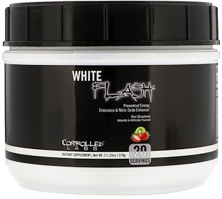 Controlled Labs, White Flash, Kiwi Strawberry, 11.23 oz (319 g)