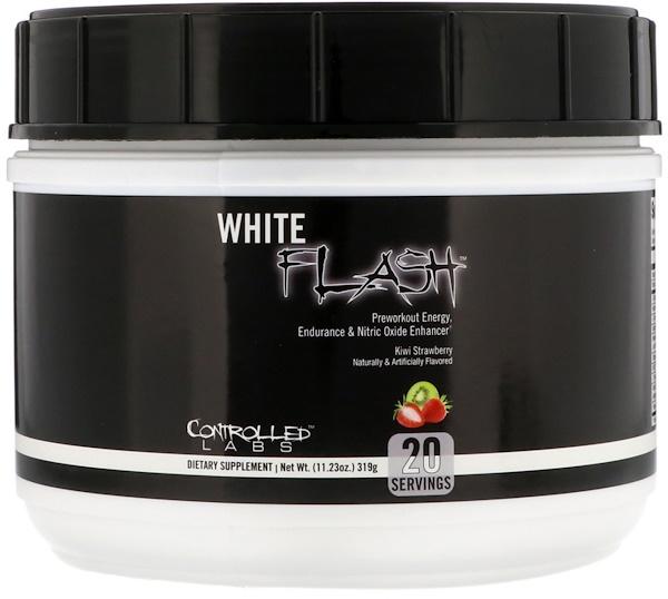 Controlled Labs, White Flash, со вкусом киви и клубники, 319 г (Discontinued Item)