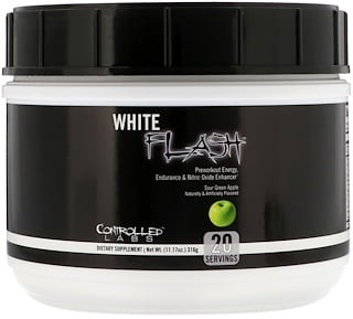Controlled Labs, White Flash, Sour Green Apple, 11.17 oz (316 g)