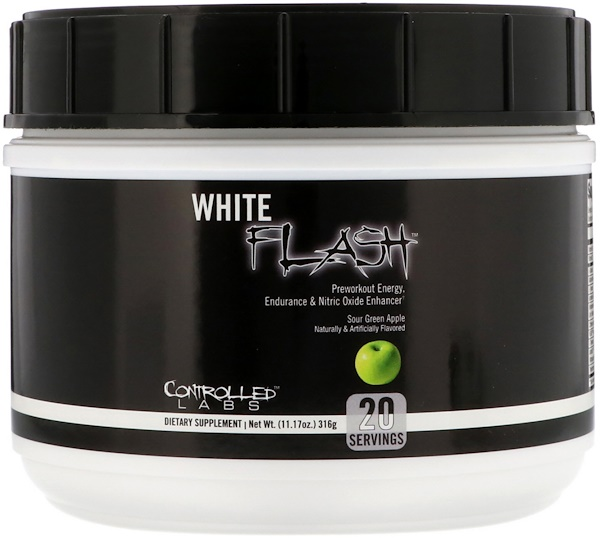 Controlled Labs, White Flash, Sour Green Apple, 11.17 oz (316 g) (Discontinued Item)