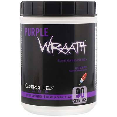 Controlled Labs PURPLE WRAATH, Freedom Pop, 2.54 lbs (1152 g)
