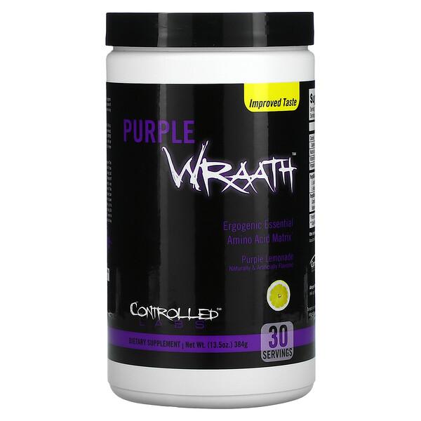 Purple Wraath, Purple Lemonade, 13.5 oz (384 g)