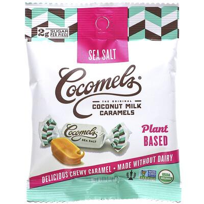 Cocomels Coconut Milk Caramels, Sea Salt, 1.3 oz (37 g)