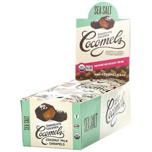 Cocomels, Organic, Chocolate Covered Coconut Milk Caramels, Sea Salt, 15 Units, 1 oz (28 g) Each отзывы