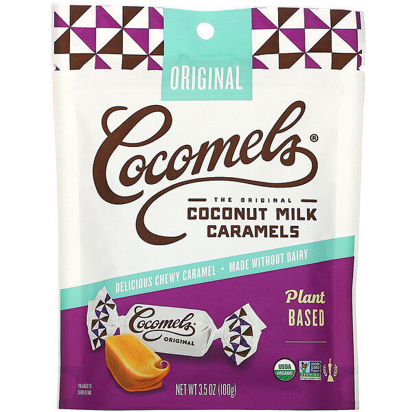 Coconut Milk Caramels, Original, 3.5 oz (100 g)