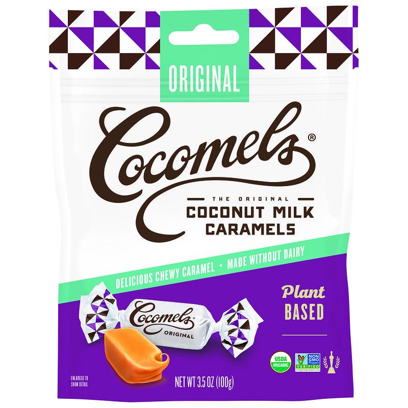 Organic, Coconut Milk Caramels, Original, 3.5 oz (100 g)
