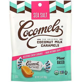 Cocomels, Organic, Coconut Milk Caramels, Sea Salt, 3.5 oz (100 g)