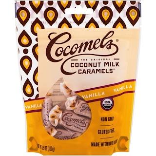 Cocomels, Organic, Coconut Milk Caramels, Vanilla , 3. 5 oz (100 g)