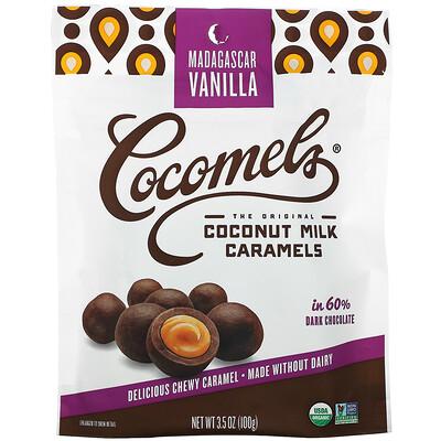 Купить Cocomels Coconut Milk Caramels, Bites, Madagascar Vanilla, 3.5 oz (100 g)