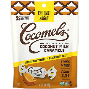 Cocomels, Organic, Coconut  Milk Caramels, Coconut Sugar, 3 oz (85 g) отзывы покупателей