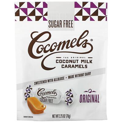 Cocomels Coconut Milk Caramels, Sugar Free, Original, 2.75 oz (78 g)