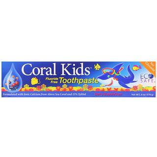 CORAL LLC, Coral Kids Toothpaste, Berry Bubblegum, 6 oz (170 g)