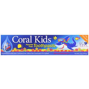 CORAL LLC, Coral Kids Toothpaste, Berry Bubblegum, 6 oz (170 g) отзывы