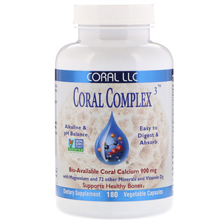 CORAL LLC, Coral Complex 3, 180 Vegetable Capsules