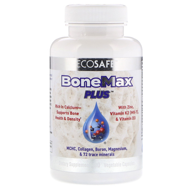 CORAL LLC, BoneMax Plus, 90 Vegetable Capsules