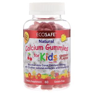 CORAL LLC, Calcium Gummies for Kids, Cherry Flavor, 60 Gummies отзывы