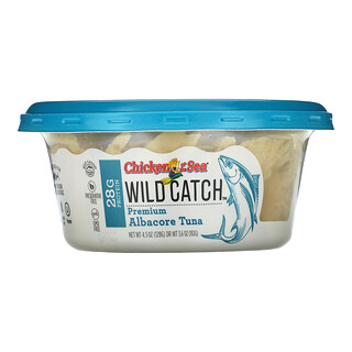 Chicken of the Sea, Wild Catch, Premium Albacore Tuna, 4.5 oz (128 g)