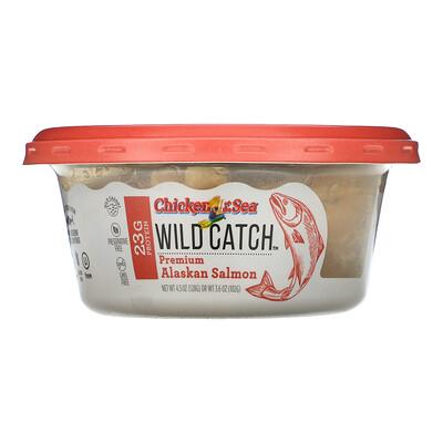 Chicken of the Sea Wild Catch, Premium Alaskan Salmon, 4.5 oz (128 g)