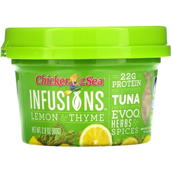 Infusions Wild Caught Tuna, Lemon & Thyme, 2.8 oz (80 g)