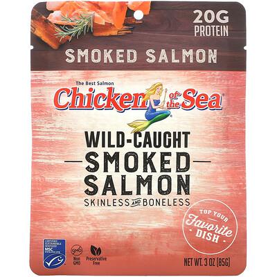 Купить Chicken of the Sea Wild-Caught Smoked Salmon, 3 oz (85 g)