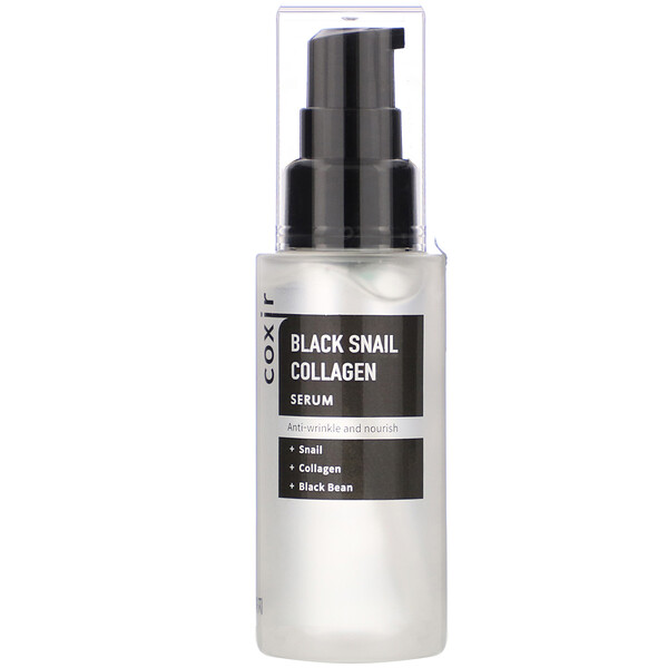 Coxir, Black Snail Collagen, Serum, 1.69 oz (50 ml)