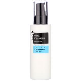 Coxir, Ultra Hyaluronic, Emulsion, 3.38 oz (100 ml)