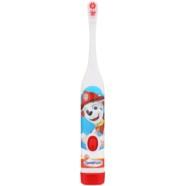 Kid's Spinbrush, Paw Patrol, Soft, 1 Battery Powered Toothbrush