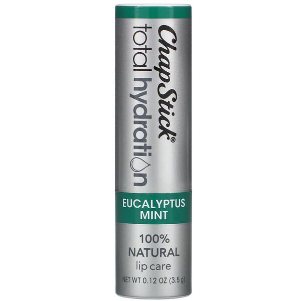 Total Hydration טיפוח שפתיים ,מנטה אקליפטוס, 3.5 גרם (0.12 אונקיות)
