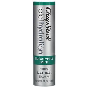 Chapstick, Total Hydration Lip Care, Eucalyptus Mint, 0.12 oz (3.5 g) отзывы