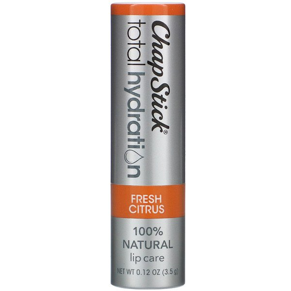 Total Hydration Lip Care, Fresh Citrus, 0.12 oz (3.5 g)