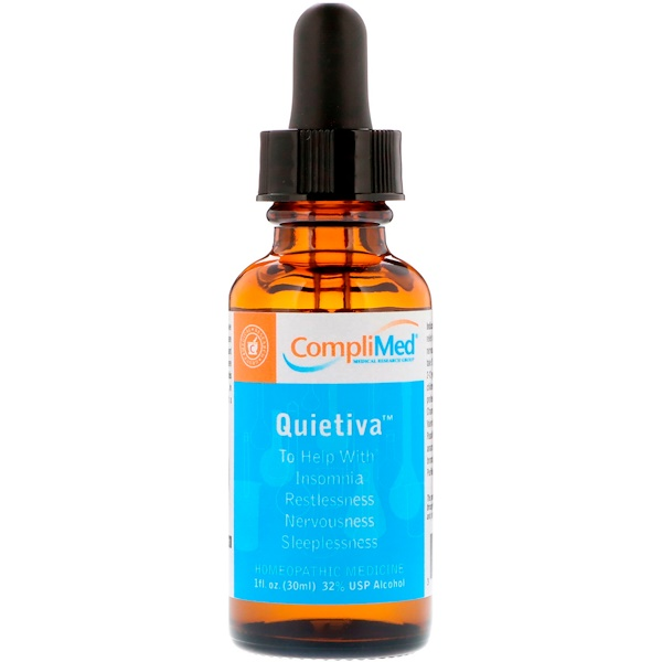 CompliMed, Quietiva,1 液體盎司(30 毫升)
