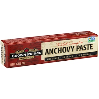 Crown Prince Natural, Anchovy Paste, 1.75 oz (50 g)