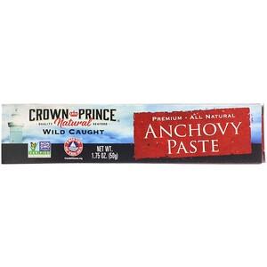 Краун Принс Нэчуралс, Anchovy Paste, 1.75 oz (50 g) отзывы