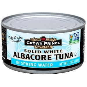 Краун Принс Нэчуралс, Albacore Tuna, Solid White, In Spring Water, 12 oz (340 g) отзывы