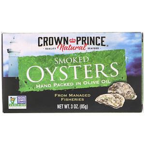 Краун Принс Нэчуралс, Smoked Oysters, In Olive Oil, 3 oz (85 g) отзывы