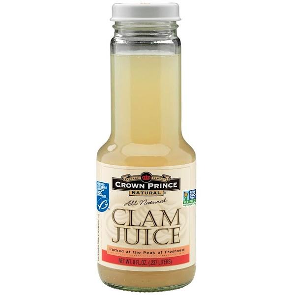 Crown Prince Natural, Clam Juice, 8 fl oz (.237 L) (Discontinued Item)