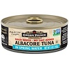 Crown Prince Natural, Albacore Tuna, Solid White - No Salt Added, In Spring Water, 5 oz (142 g)