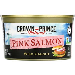 Краун Принс Нэчуралс, Pink Salmon, Wild Caught, 7.5 oz (213 g) отзывы