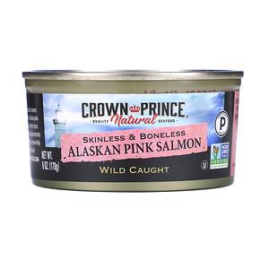 Краун Принс Нэчуралс, Alaskan Pink Salmon, Skinless & Boneless, 6 oz (170 g) отзывы
