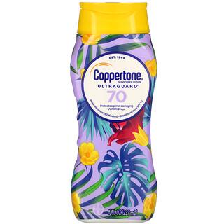 Coppertone, UltraGuard, Sunscreen Lotion, SPF 70, 8 fl oz (237 ml)