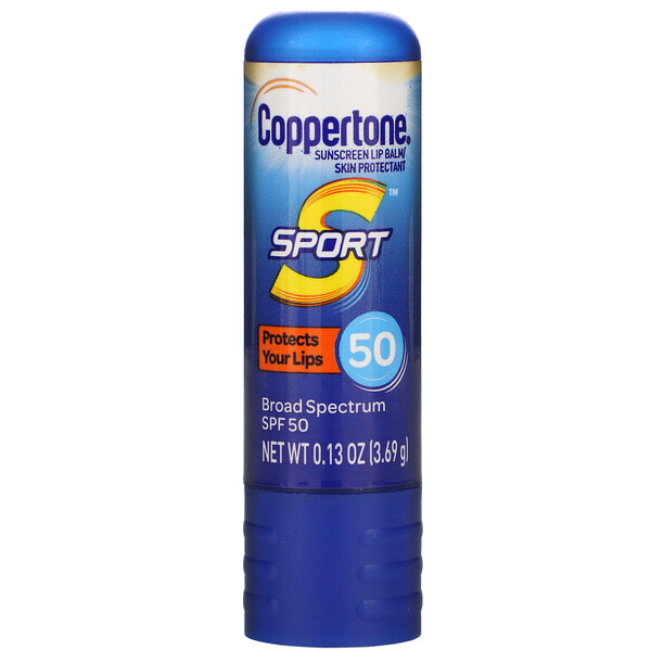 Sport, Sunscreen Lip Balm, SPF 50,  0.13 oz (3.69 g)