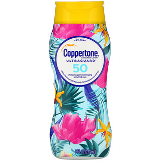 Coppertone, UltraGuard, Sunscreen Lotion, SPF 50, 8 fl oz (237 ml)