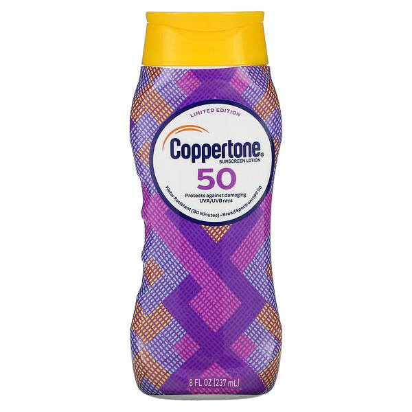 Sunscreen Lotion, Limited Edition, SPF 50, 8 fl oz (237 ml)