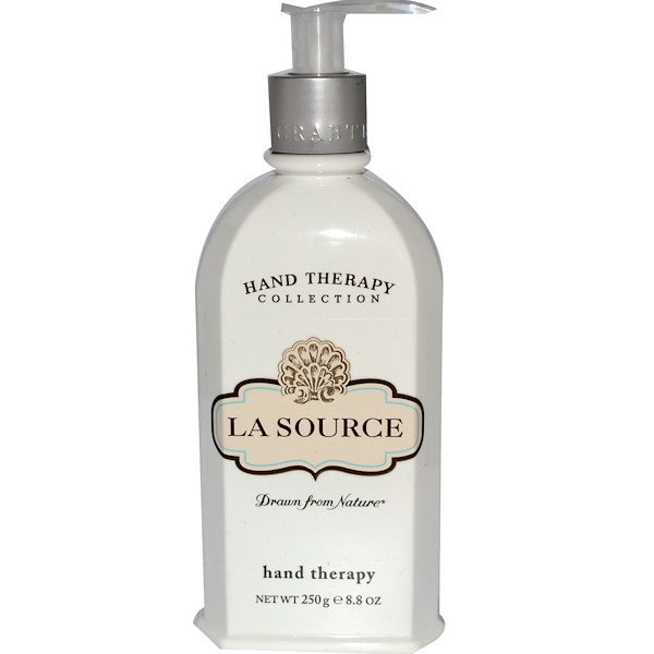 Crabtree & Evelyn ®, Hand Therapy, La Source™, 8.8 oz (250 g)  (Discontinued Item)